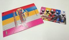 【ニンニンジャー】新戦隊プレミア発表会 会場限定ミュージックコネクティングカードでニンニンジャーのOPとEDがいち早く聞けるぞ!