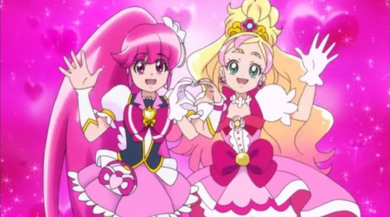 【プリキュア】キュアラブリーからキュアフローラへバトンタッチ!2月1日からは『Go!プリンセスプリキュア』がはじまるよ!