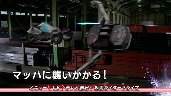 【仮面ライダードライブ】第19話「なにが刑事を裁くのか」の予告でライドクロッサーと戦う謎のマシンが登場!
