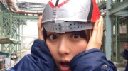 【仮面ライダードライブ】詩島霧子役 内田理央さんが仮面ライダードライブに!ドライブ型のヘルメットがかわいすぎ!