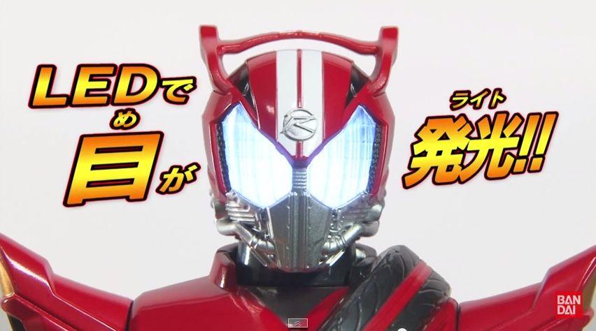 【仮面ライダードライブ】メガライトフィギュア 仮面ライダードライブ タイプスピード が5月2日発売!