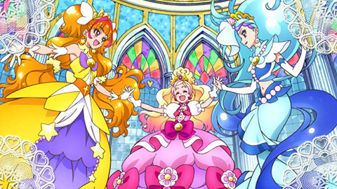 【プリキュア】Go! プリンセスプリキュア・ミラクルドレスアップキーセットの動画レビュー!(しんきばチャンネルさん)