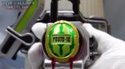 【鎧武/ガイム】DXウォーターメロンロックシード 仮面ライダー斬月セットの動画レビュー!(とい★はっぴーさん)