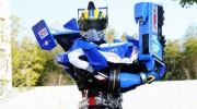 【仮面ライダードライブ】真っ赤なタイプトライドロンと青いトレーラー砲の組み合わせはアリ?