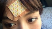【仮面ライダードライブ】詩島霧子役 内田理央さんのコーナー!第34話のでっかい絆創膏はうさぎさん&にんじんが!