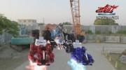 【仮面ライダードライブ】『劇場版 仮面ライダードライブ』でライドクロッサーとライドブースターがまさかの合体!
