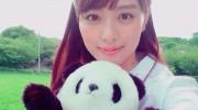 【仮面ライダードライブ】詩島霧子役 内田理央さんがパンダに!パンダ姿の霧子さんがかわいすぎ!