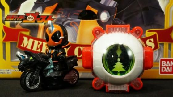 【仮面ライダーゴースト】キャラデコクリスマス 仮面ライダーゴーストの動画レビュー!(k2eizoさん)