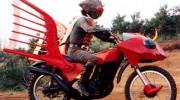 【仮面ライダー】撮影現場に謎のバイクが!『仮面ライダーアマゾンズ』に登場する新ジャングラーか?