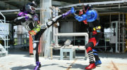 【仮面ライダーエグゼイド】仮面ライダーゲンムVS仮面ライダービルドの対決!ビルド「エグゼイドと間違えちゃった。エヘッ」