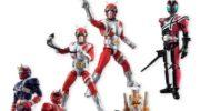 【仮面ライダー】SHODO仮面ライダーVS8が2018年2月発売!ZX、ディケイド、響鬼がラインナップ!