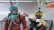 【仮面ライダービルド】ナイトローグがクロコダイルクラックフルボトルで仮面ライダーローグに変身!武器のネビュラスチームガンも!