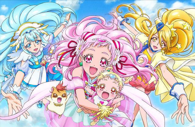 【プリキュア】プリキュア15周年!『HuGっと!プリキュア』のビジュアルが公開!子供を守るお母さんがテーマ!