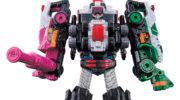 【ルパレンVSパトレン】「VSビークルシリーズ 快盗合体 DXルパンカイザーセット」が3月上旬発売!ルパンレンジャーの合体ロボ!