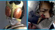 【仮面ライダー】平成仮面ライダーのマスクは皮膚が変化したものか?それとも単なる被りものなのか?を考察した動画がおもしろいw