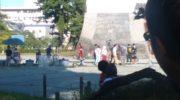 【仮面ライダージオウ】またしても小田原城でジオウの撮影が!平成ジェネレーションズFOREVERの撮影?