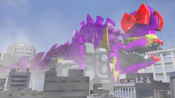 【リュウソウジャー】12話に登場したディメちゃんが東京おもちゃショーに展示!商品化クルー?