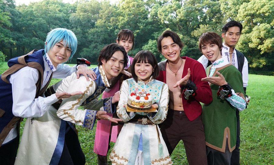 【リュウソウジャー】8月2日はオトちゃん役の田牧そらちゃんのお誕生日!おめでとうございます!