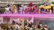 【仮面ライダージオウ】最強クラスの敵怪人vs平成ライダーの最強フォーム&中間フォーム&パインwどっちが強い?