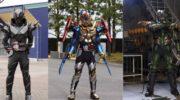 【仮面ライダービルド】『ビルドNEW WORLD 仮面ライダーグリス』完成披露舞台挨拶でカズミンとみーたんがラブラブに!