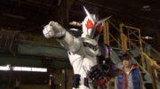 【仮面ライダーW】『風都探偵』でWが白と青のファングトリガーに!アームファングが弓に!ファングスクリュードル!